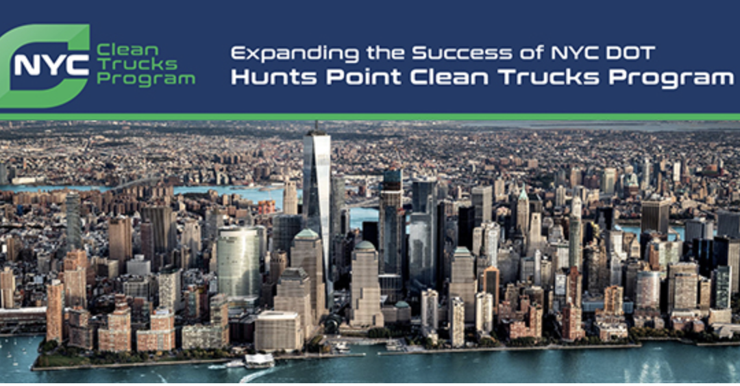 Electrifying Medium- and Heavy-Duty Trucks in New York